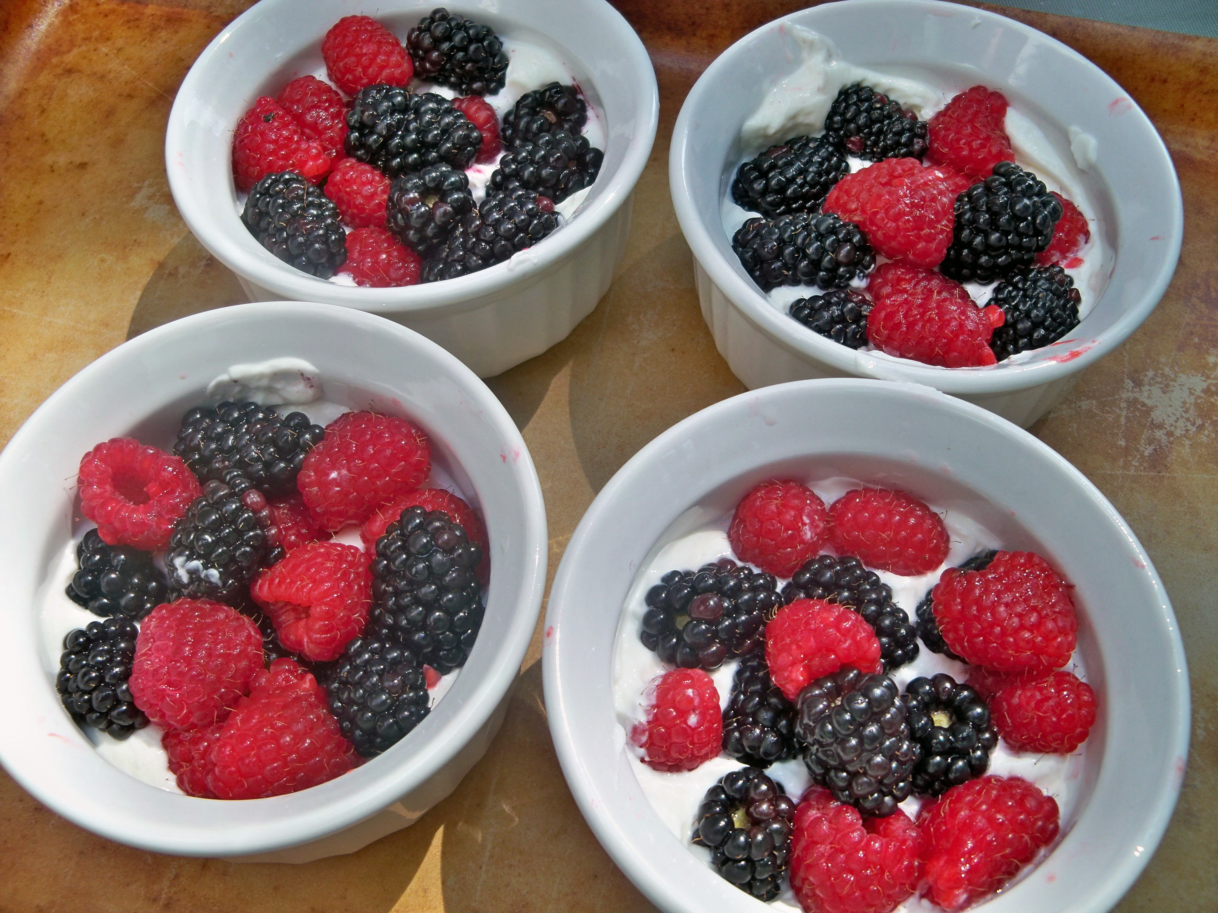 Brown Sugar Fruit Gratin | Life and Kitchen
